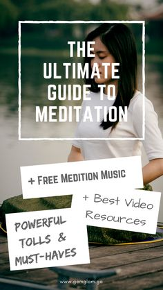 The Ultimate Guide To Meditation  & Free Video  & Free Meditation Music  & Alternatives For REALLY TIGHT Schedules    meditation // how to meditate //  meditate for beginners // meditate guide // meditation music// meditation video // mindful meditation // meditation room // meditation space // meditation pillow//meditation benefits // meditation techniques