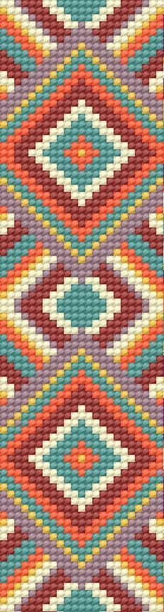Resultado de imagen de patterns for bead loom bracelets Bead Loom Bracelets, Beaded Bracelet Patterns, Bead Loom Patterns, Peyote Patterns, Weaving Patterns, Cross Stitch Patterns, Cross Stitches, Tapestry Crochet Patterns, Motifs Perler