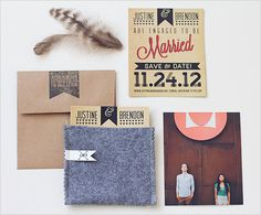 stylish save the dates