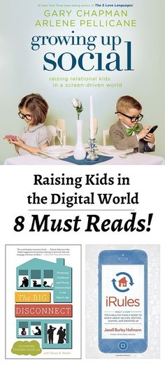 Raising kids in a digital world- SO many great resources for when you child should get a phone, keeping kids safe online, and how your kids are affected by YOUR phone! Love them all!