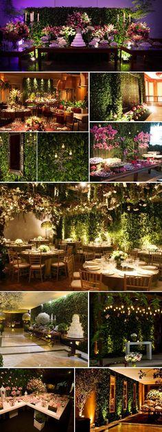 { decoração } Muro Inglês | http://blogdamariafernanda.com/decoracao-muro-ingles #weddingdecoration