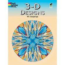 3-D Designs Coloring