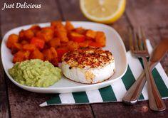Grilovaný hermelín s hokkaido tekvicou - NajRecept. Guacamole, Mashed Potatoes, Mexican, Cheese, Ethnic Recipes, Food, Hokkaido, Whipped Potatoes, Smash Potatoes