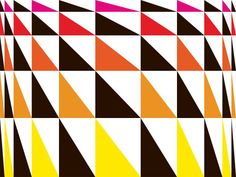 Gary Andrew Clarke Shape Patterns, Print Patterns, Geometric Shapes, Geometry, Color Pop, Modern, Villa, Architecture, Paint