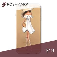 Summer Fashion Girl Phone Case ☀️ 📱 Fits iPhone 6/6S. Perfect stocking stuffer! 🎄 🎅🏽 Accessories Phone Cases