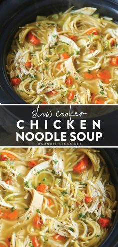 Chicken Soup For Colds, Stew Chicken Recipe, Crockpot Chicken Soup Recipes, Recipes For Chicken, Crockpot Chicken Noodle Soup, Slow Cooker Chicken Stew, Stewed Chicken, Chicken Soups, Easy Crockpot Soup