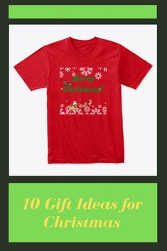 Christmas Gifts, Mens Tops, T Shirt, Clothes, Fashion, Xmas Gifts, Supreme T Shirt, Outfits, Moda
