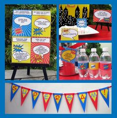 Super Hero DIY Printables on Etsy