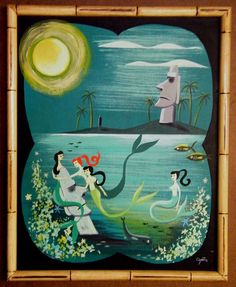 El Gato Gomez—  Tiki painting!