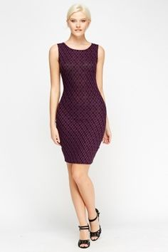 Cheap Dresses for 5 £ Affordable Dresses, Cheap Dresses, Purple Bodycon Dresses, Latest Dress, Dress Outfits, Fashion Online, Shop Now, Brand New, Printed