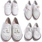 White spirit : oui à la chaussure blanche !