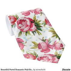 Beautiful Pastel Romantic Pink Roses Girly pattern