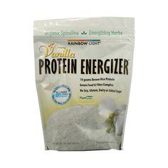 rainbow light protein energizer creamy vanilla 10 7 oz. Black Bedroom Furniture Sets. Home Design Ideas
