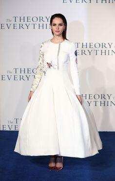 The Demure Felicity Jones - Felicity Jones in Dior Haute Couture