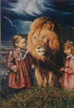 Narnia series of paintings by Paula Novak