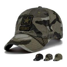 Fashion New Outdoor Camo baseball hats Men Casual Top Quality Camouflage  Caps 55-59cm Price. Gorras De MarcaHombres MilitaresGorras BordadasSombrerosRopa  ... e1d48da35ee