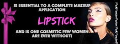 Try our new molded lipstick at pinkpowderparlor.com