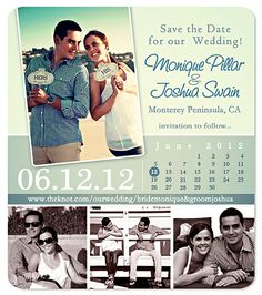 I will most likely customize these for our Save the Dates