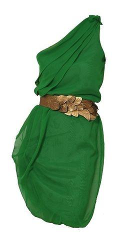 Vestido_griego_verde