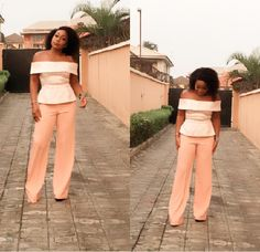 Welcome to Oghenemaga Otewu's Blog: Rita Dominic stunning in peach outfit