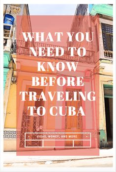 Traveling to Trump's Cuba: What You Need to Know · Gypsy Sols Everything you need to know about traveling to Cuba under the new rules. This guide takes you step by step though how we were able to travel to Cuba safely and easily. Travel Guides, Travel Tips, Travel Destinations, Cuba Travel, Solo Travel, Travel Couple, Family Travel, Travel Pictures, Travel Photos