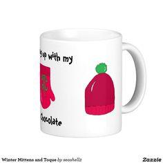 Winter Mittens and Toque Classic White Coffee Mug