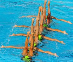 Synchronized Swimming Worlds - France | Sports Illustrated Kids