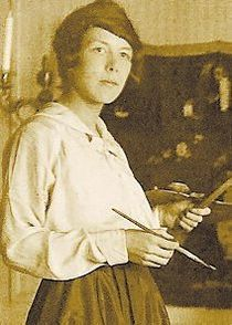 Swedish Modernist painter Sigrid Hjerten (1885 - 1948)