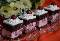 Hungarian Cake, Hungarian Recipes, Cake Bars, Tea Party, Bacon, Cheesecake, Food And Drink, Sweets, Desserts