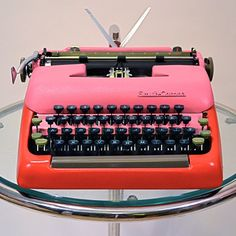 restored/refinished typewriter by Kasbah Moderne