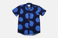 Esquina - Big Dots Print: It's been a while, but this caught my eye the other day and I just thought...well, that's a little sexy isn't it, definitely worth a pin!