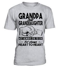 GRANDPA _ GRANDDAUGHTER  Funny grandfather and grandson T-shirt, Best grandfather and grandson T-shirt