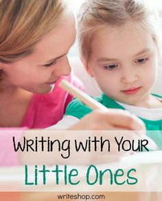 Here are three simple activities you can do to foster a love of words and writing in your younger children.