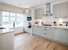 4 bedroom detached house for sale in Ledsham Road, Cheshire, - Rightmove. Kitchen Units, New Kitchen, Kitchen Ideas, Kitchen Interior, Kitchen Design, Redrow Homes, Conservatory Kitchen, Cottage Living, Living Room