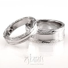His & Hers wedding bands