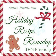 Healthy Holiday Recipe Roundup...this recipe roundup contains all sorts of sugar-free, low-carb recipes that are Trim Healthy Mama approved.  Who says diets mean bye-bye to good food?