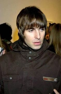 liam gallagher -dont always go for the bad boys...buuuut...Liam was killer in his day...