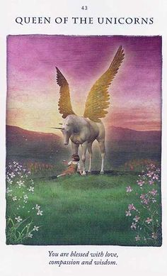 Today's Unicorn Card – Diana Cooper