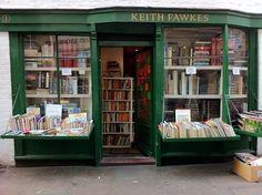Keith Fawkes bookshop in Hampstead, London
