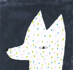 Fox print by Hanna Konola