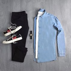 Outfit by: @cantimagineit ______________ @thenortherngent for more outfits. #SHARPGRIDS to be featured. ______________ Shirt: Zara Lamey Pants: @asos_man Shoes: @commedesgarconsxplay ______________ #outfitgrids #gqstyle #styleformen #ootd #lookbook #flatlay #flatlays #outfitgrid #falloutfits #commedesgarcons #commesdesgarconsplayshirt #commesdesgarcons #zara #asosmen #asos #uniqlo #ootdmen #outfitinspo #outfitideas