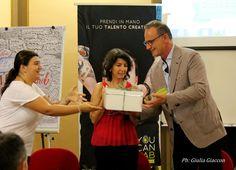 Premio ufficiale e omaggio degli Sponsor a Dante Bonacina - Slow Boss più votato dalla Community (Direttore Commerciale Ca' del Bosco)