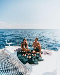 Sailing Around the Greek Isles with Yacht Getaways. — Our Travel Passport - sailing the greece cyclades with yacht getaways - Travel Goals, Us Travel, Passport Travel, Bali Travel, Train Travel, Vacaciones Gif, Catamaran Design, Sailing Greece, Sailing Trips