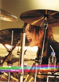 The happiest drummer in the world (○⌒∇⌒○)