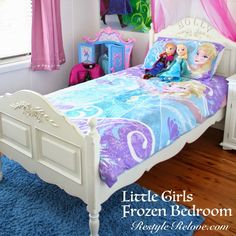 Little Girls Frozen Bedroom