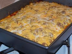 Lucy's Diabetic Friendly Low Carb Meals: Beef Enchilada Pie