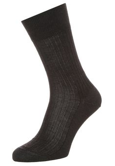 Falke BRISTOL PURE - Sokker - anthracite melange for kr 149,00 - str. 39/40