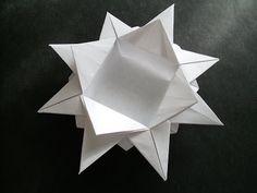 ドラゴン Origami: Snowflake-Box