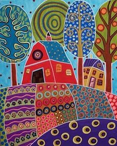 Karla Gerard...barn /pattern idea