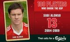 100PWSTK: 13. Xabi Alonso - Liverpool FC